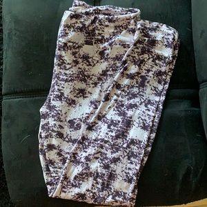 Purple Lularoo Leggings